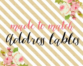 Made to Match Address Labels