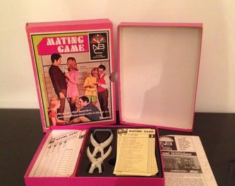 The Mating Game Bookshelf Game 1969