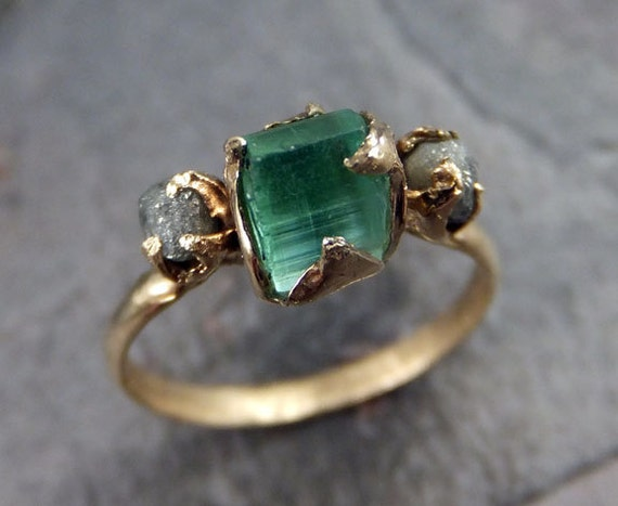 Raw Sea Green Tourmaline Diamond Gold Engagement Ring Wedding. 1 Million Dollar Wedding Rings. Large Blue London Wedding Rings. Minion Rings. Rose Cut Rings. 3 Band Twist Wedding Rings. Wire Wrapping Rings. Detailed Wedding Engagement Rings. Earthy Engagement Rings