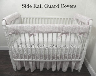 Side Rail Guards for Bumperless Crib Bedding Sets