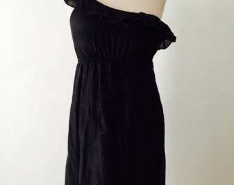 70s Off The Shoulder Wiccan Dress