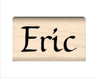 Name Rubber Stamp for Kids  - Eric
