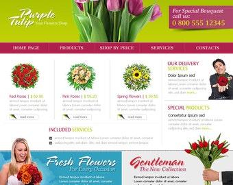 Custom Website 4 Pages Bespoke Design
