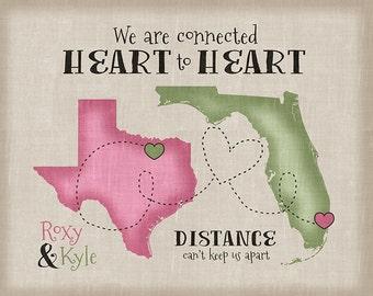 Long Distance Maps