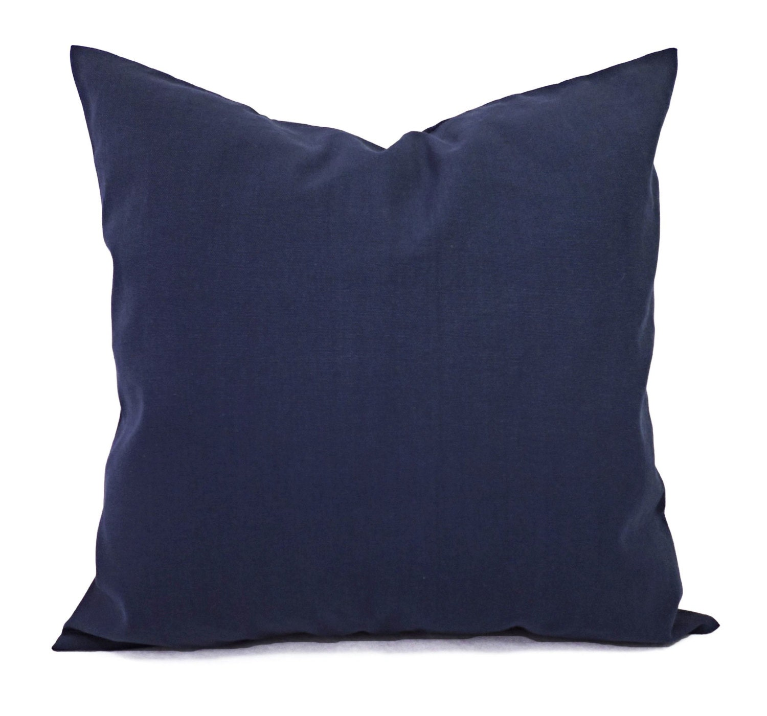 Decorative Pillow Wraps : Solid Pillow Covers Navy Couch Pillow Covers Two Navy