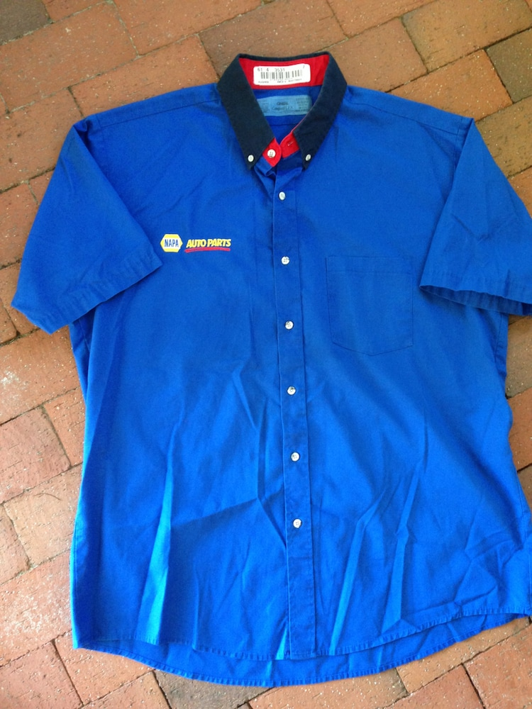 napa auto parts uniform shirt size extra large by