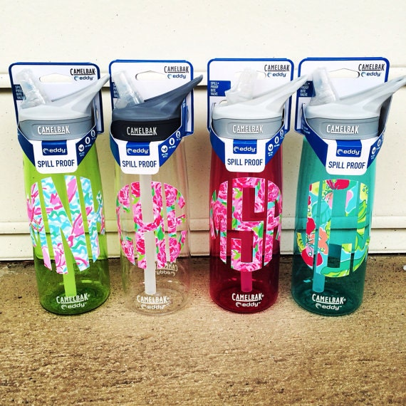 Personalized Lilly Pulitzer Inspired Camelbak Water Bottle