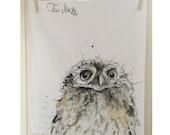 Owls Head Tea Towel