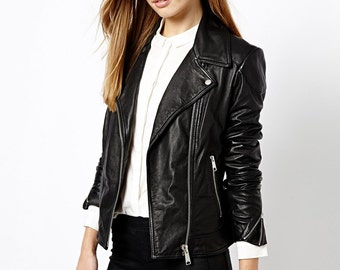 Biker Leather Jacket for Women  model Biker3