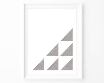 TRIANGULAR | Print