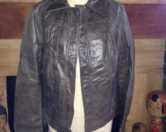 90's Philosophy Di Alberta Ferretti made in Italy with tags leather jacket
