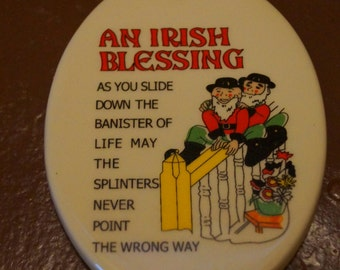 Irish Blessing Souvenir