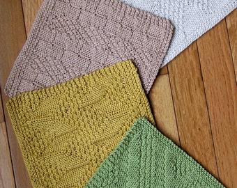 Knitting Pattern Really Reversible Baby Blanket Afghan