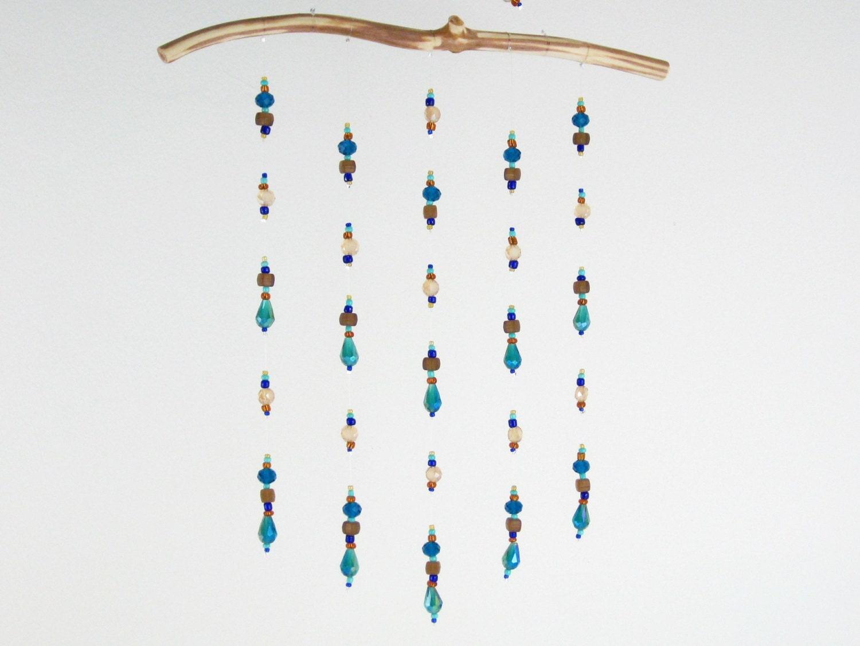 sun catcher mobile hanging window ceiling decor blue living. Black Bedroom Furniture Sets. Home Design Ideas
