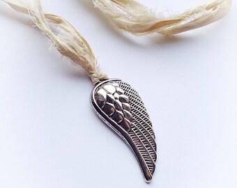 Angel Wing Boho Necklace
