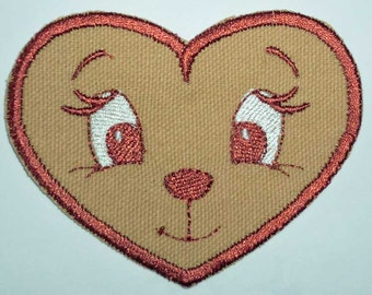 Iron-On Patch - BEAR FACE