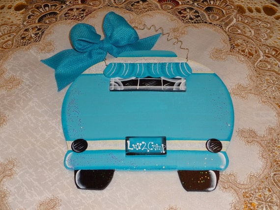 Items Similar To Retro Camper Sign For Personalizing