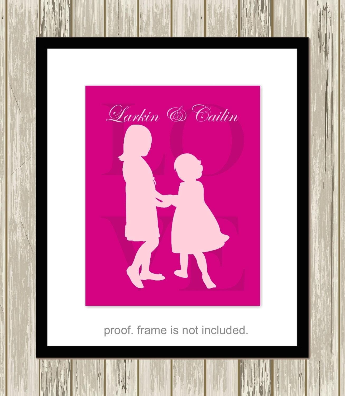 Sisters Art Sisters Room Decor Sisters Quotes Siblings Wall