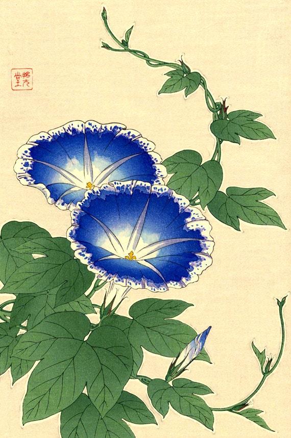 Japanese art botanical...