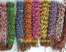 200 stems pretty pip berry stem for DIY wreath crafts decoration ETC many color for you choose