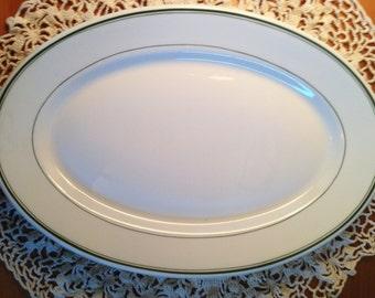 McNicol China Green Line Platter
