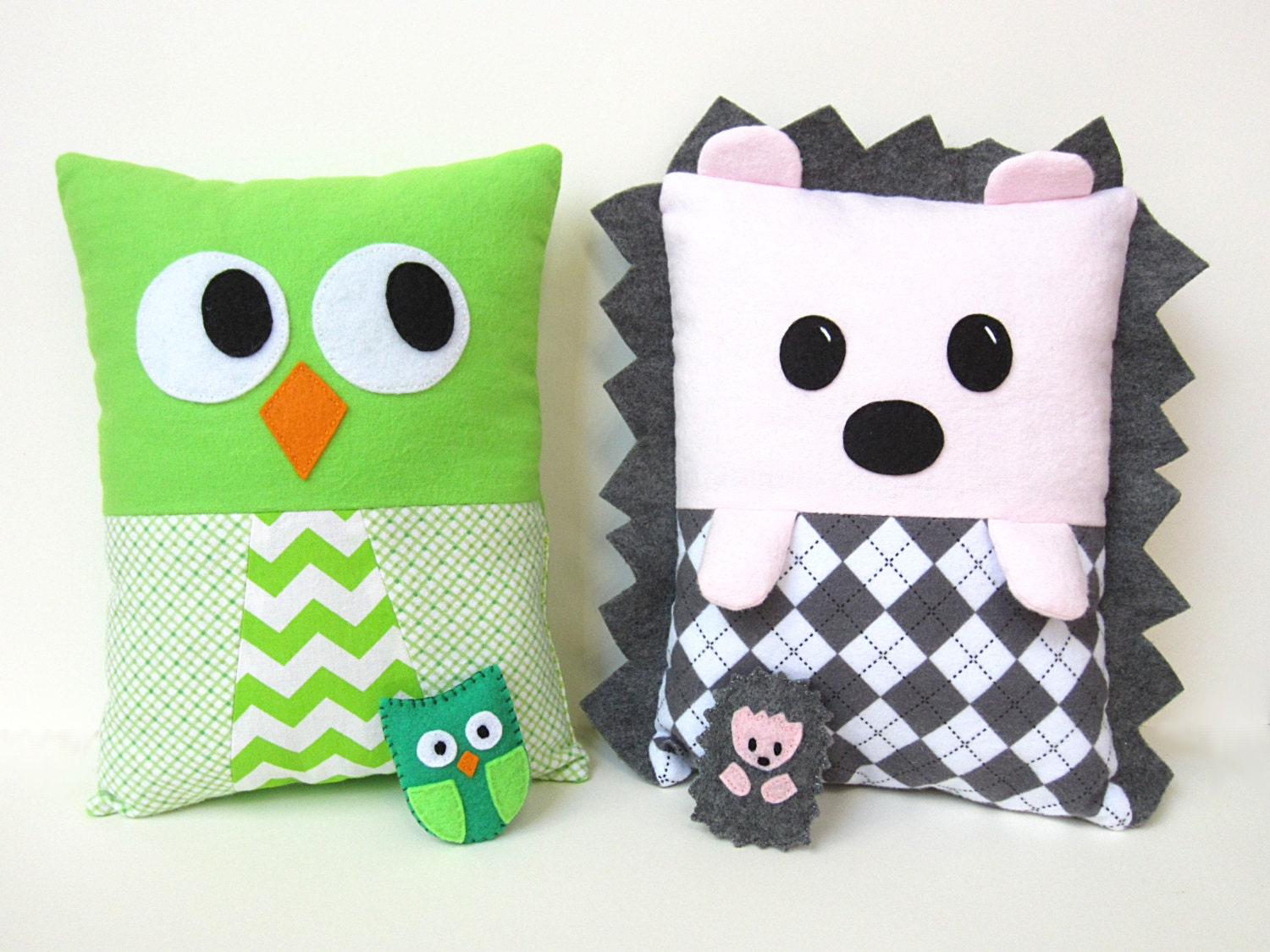Owl Pillow Pattern Hedgehog Owl Pillow Sewing Pattern Pdf Kawaii Tutorial With
