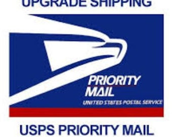 UPGRADE Shipping - Add PRIORITY Mail