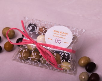 Chocolate Espresso Bean Wedding Favors / Corporate Promotional Gifts/ Shower Favors/ Party Favors . 1 oz Pillow