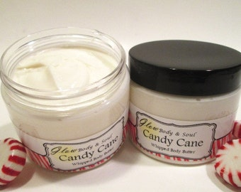 Candy Cane Body Butter Paraben Free Body Butter