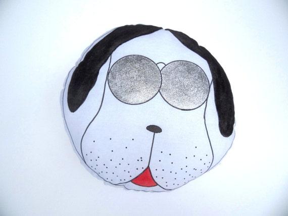 Animal Shaped Dog Plush Pillow Toy Nursery Decor by Byxfree