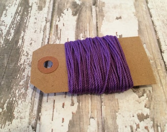 10 Yards of Solid Purple Baker's Twine