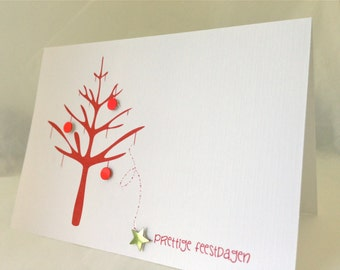 Christmas cards . Holiday Cards . Personalized Christmas Card . Unique christmas cards . Custom Christmas cards.  Christmas tree