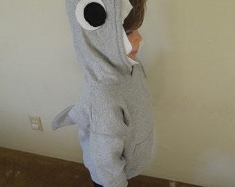Shark Hoodie - child's sizes