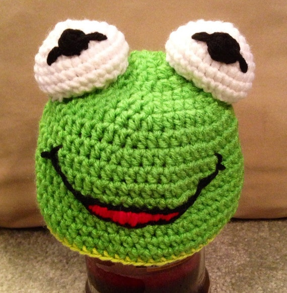 Kermit inspired Hat made to order