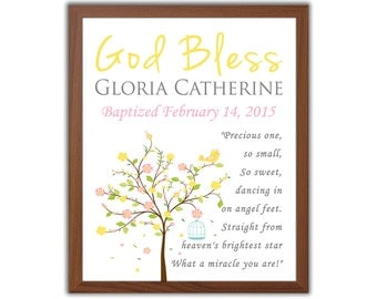 Girls Baptism Gift - Baptism Gift For Girl - Christening Gift - Gift From Godparents