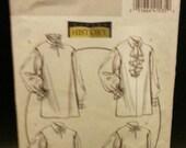 On Sale Butterick 5008 Pattern Misses'/Men's Shirt Size XM (Sml-Med-Lrg)