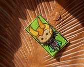 Chibi Loki patch inspired by Loki from the avengers