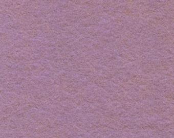 Wool Felt - Field of Lilacs - Sold By the Half Yard (BTHY)