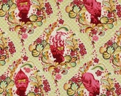 Tula Pink Parisville Cameo Sprout Rare OOP 1 yard Fabric
