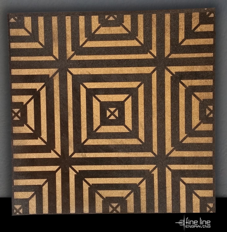 Cork Board Tiles
