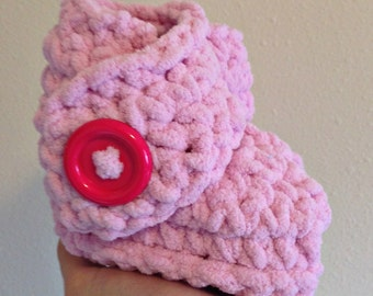 Warm and Fuzzy Baby Booties