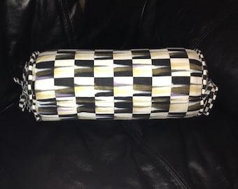 Black and White Checks 14x6 Throw Pillow!!