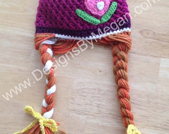 Princess Crochet Hat