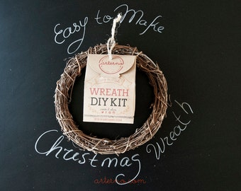 Christmas DIY Wreath Kit
