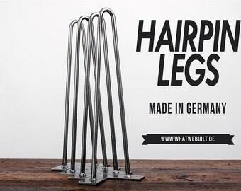 Hairpin legs m (45 cm)-Viererset table Legs