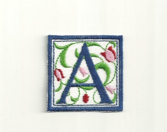 "Friendship Initial Patch! 2"" any color! Custom Made!"