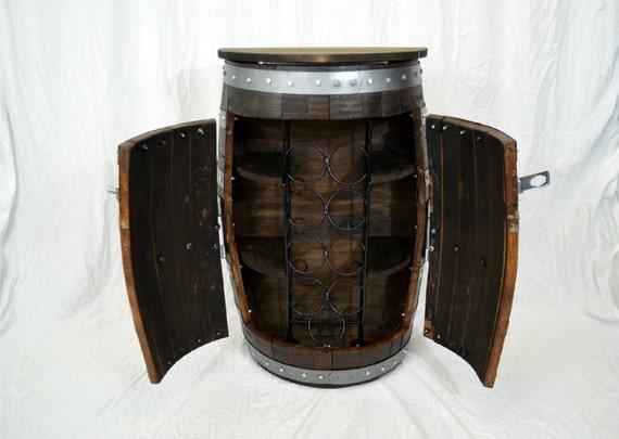 tonneau de vin whisky baril liqueur armoire par. Black Bedroom Furniture Sets. Home Design Ideas
