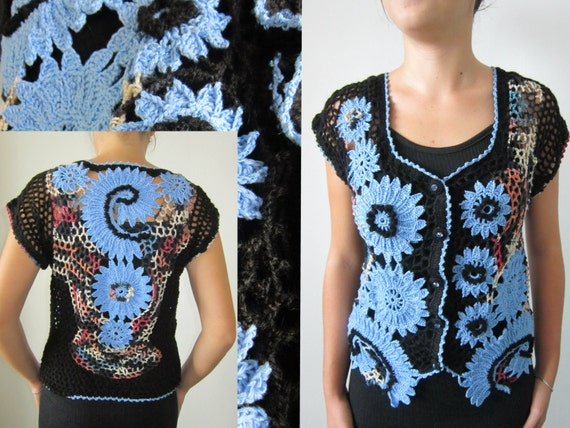 Freeform Crochet Blouse 38