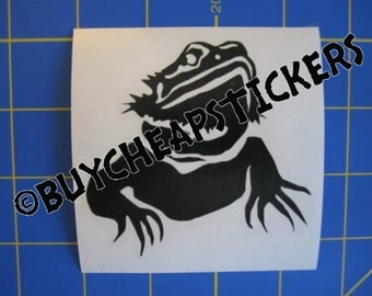 Bearded Dragon Decal/Sticker 3X3