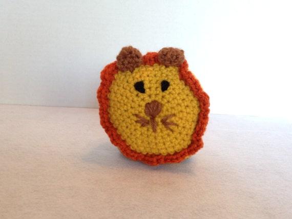 Amigurumi Yarn Eyes : Toy Crochet Amigurumi Lion Yarn Eyes by BlinkingCatBoutique